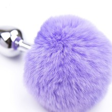 Anal Toy Butt Plug with Crystal Jewelry