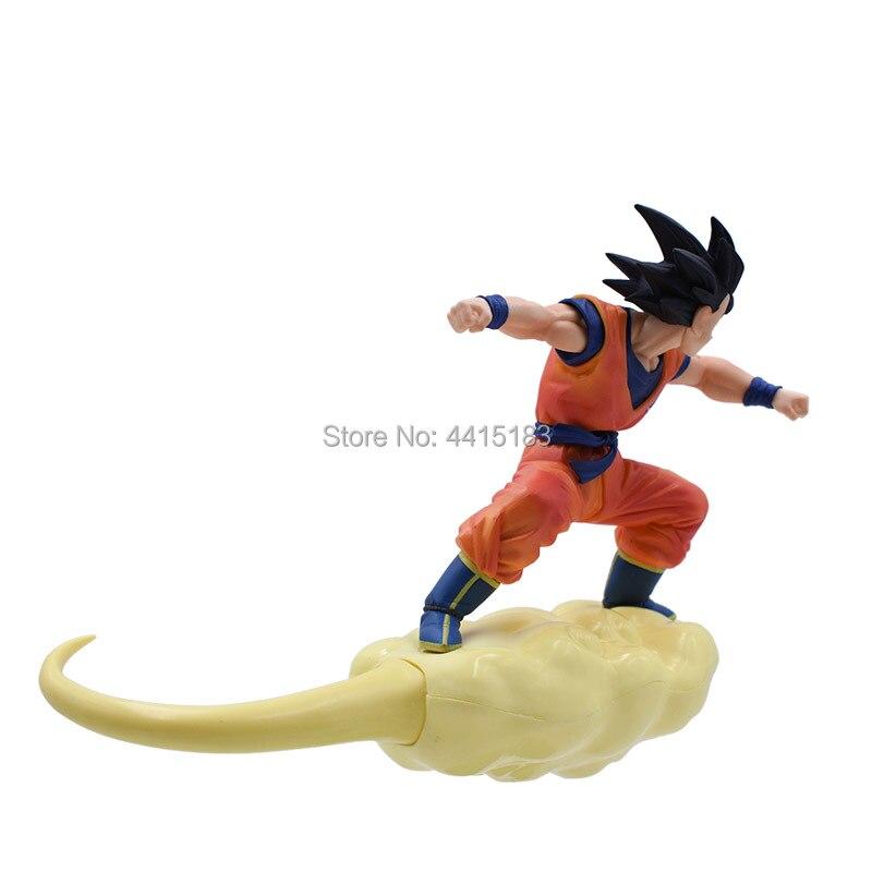 Toys & Hobbies 20cm Dragon Ball Z Super Saiyan Son Goku Purple Ver Model Collection Anime Action Figure Dropshipping Brinquedos Dbz Bos Gift