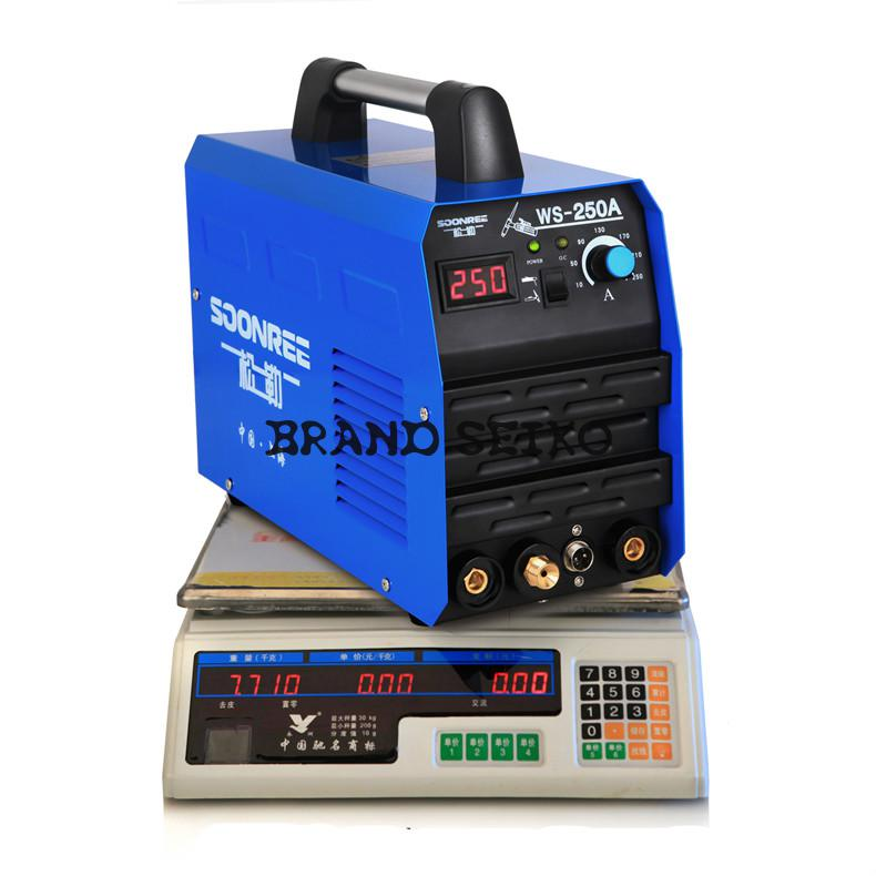 Tag Arc Mma Zx7 Ws-200a 250a Tig Inverter Dc Stainless Steel 220v Welding / Argon Dual Purpose Electric Mach  цены