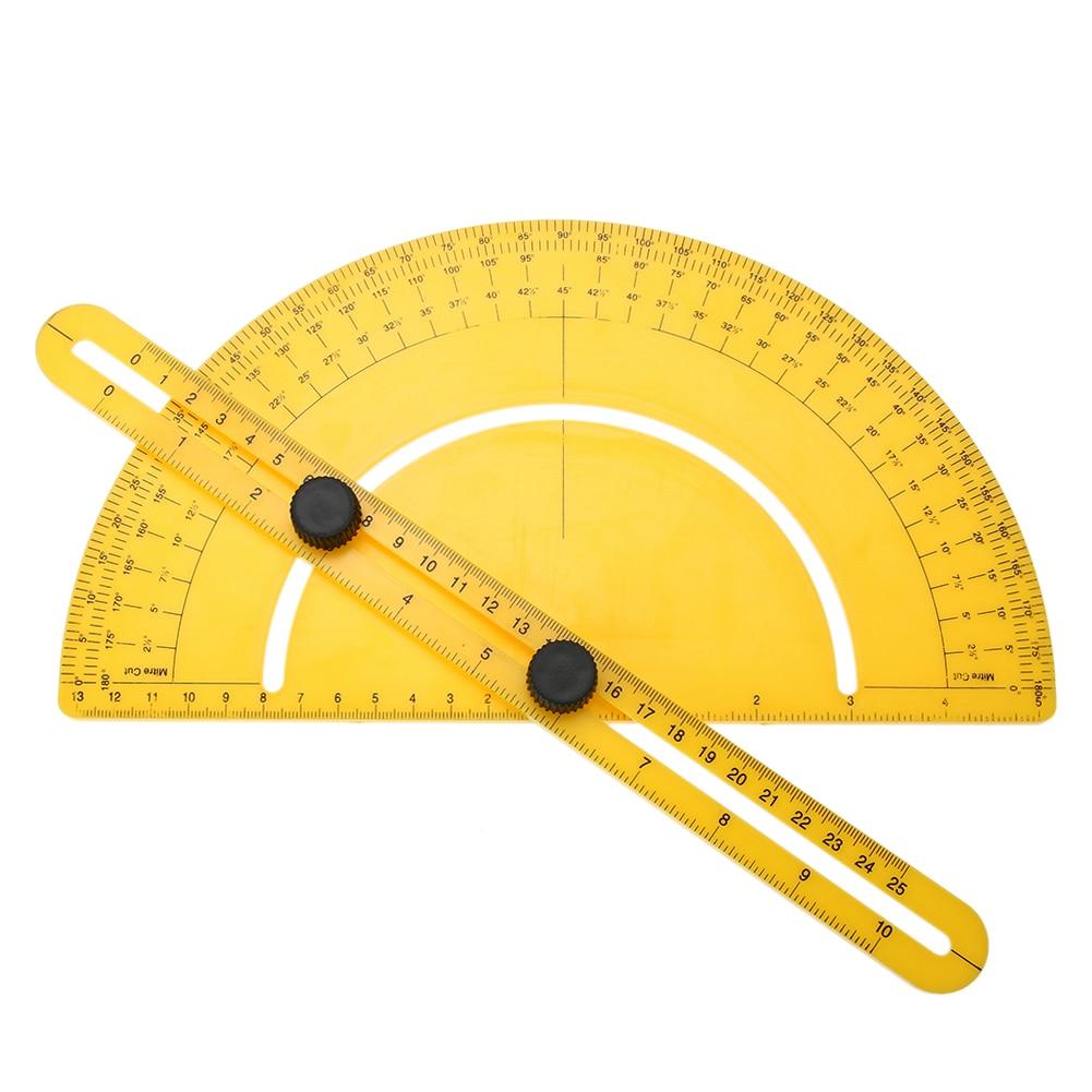 Складной линейка измерительный прибор шаблон угол-izer инструмент общие Инструменты Транспортир угловой видоискатель шарнирной Раза Правитель