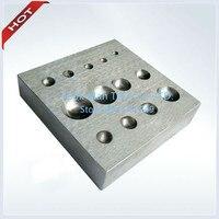 Flat Dapping Block For Jewelry, Jewelry tool ,Jewelry Making Supplies ,Size:80X80X10mm
