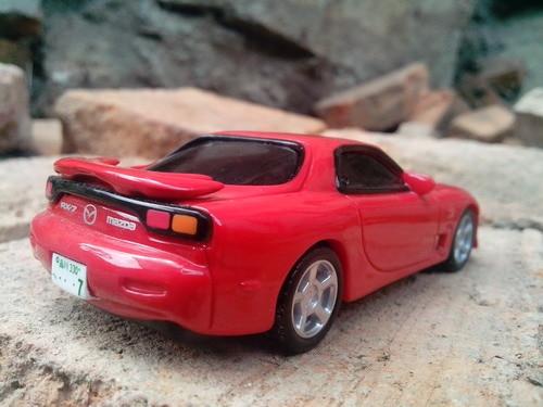 Mazda Rx7 2015 >> 2015 Japan Iwaya Rock Valley 1 43 Pvc Resin Model Car Mazda Rx7