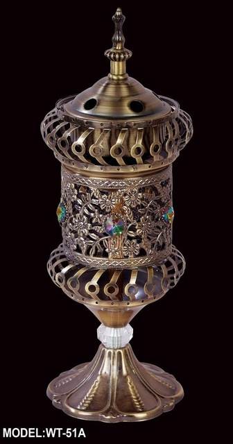 Middle East censer / Arab censer / incense burner incense smoke / electric censer / metal censer