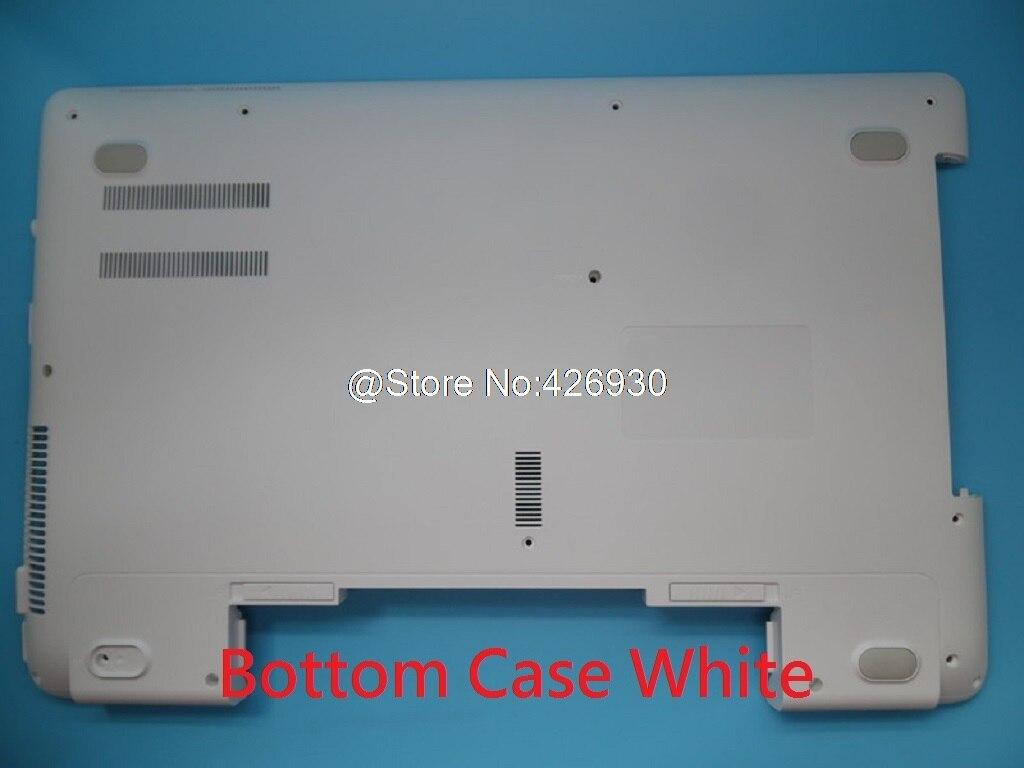 Laptop Bottom Case for Samsung NP300E5E 300E5E BA75-04814B Lower Case White New