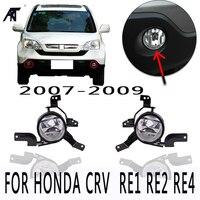 NEW Fog Light Fog Lamp Front Bumper Light Sub Assy For Honda For CRV 2007 2008 2009 OEM:33951 SWA H01 33901 SWA H01