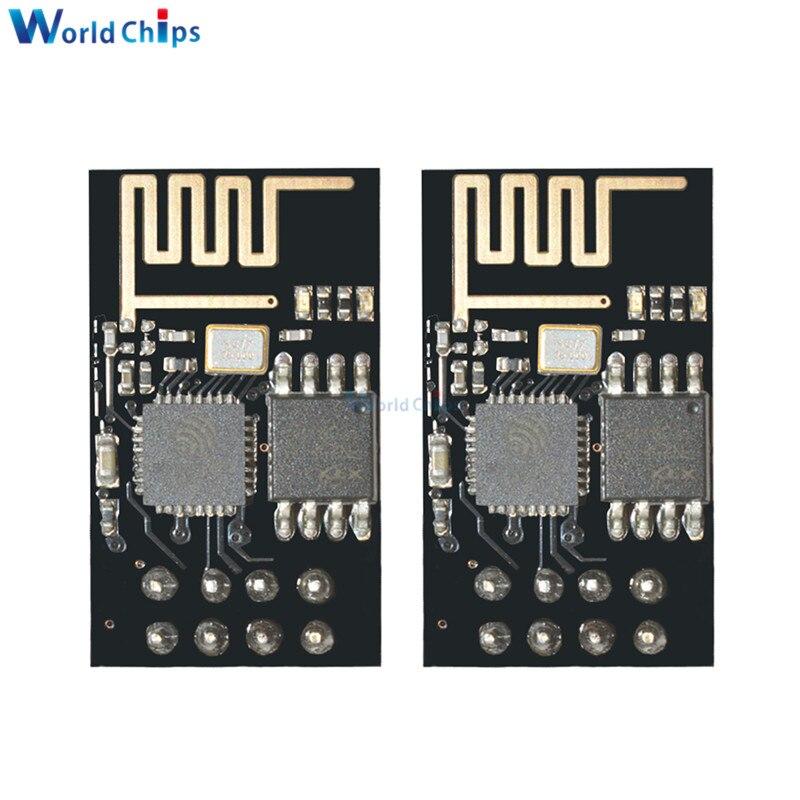 50PCS ESP8266 ESP 01 ESP01 Serial Wireless WIFI Module Transceiver Receiver Internet Of Things Wifi Model