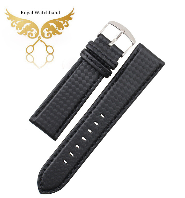 18mm 20mm 22mm 24mm NEW Mens Watch Band Carbon Fibre Watch Strap Bracelets With Leather Lining Stainless Steel Clasp 20mm 21mm 22mm 23mm 24mm watch band carbon fibre watch strap with orange soft leather lining stainless steel clasp