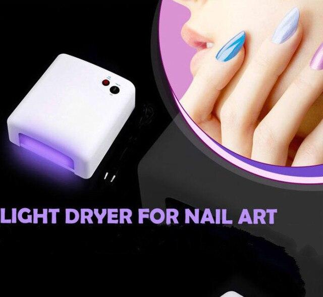 36W Mini Nail Dryer LED Lamp For Curing Nail Dryer Nail Gel Polish machine Dryer Curing Lamp Led uv lamp For Nail Art Tools