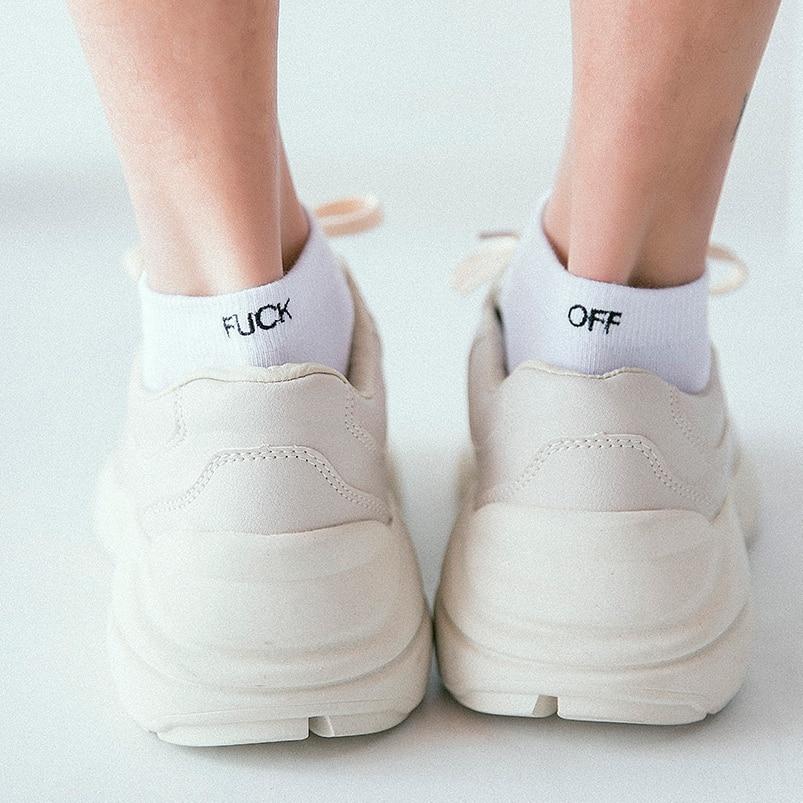 Man Socks Invisible FXXX off white