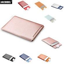 Jacodel Microfiber Laptop Sleeve Bag Case for Macbook 12 Air 11 13 Pro 13 15 Laptop