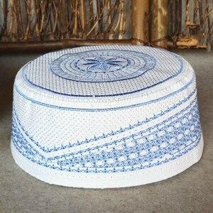 Image 1 - Plus Size Muslim Prayer Caps Allah Bonnet Musulmana Kippah Yarmulke Jewish Hats Kopftuch Hidjab Turban African Sombrero Pesca