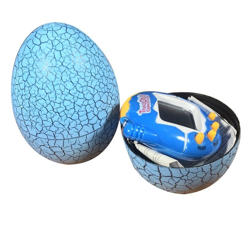 Multi-colors Dinosaur Egg Tumbler Virtual Cyber Digital Pets Electronic Digital E-pet Retro Handheld Game Machine Tamagochi Toys