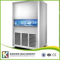 Ticari buz makinesi buz çay partileri ile mağaza bar otomatik buz makinesi 55Kg