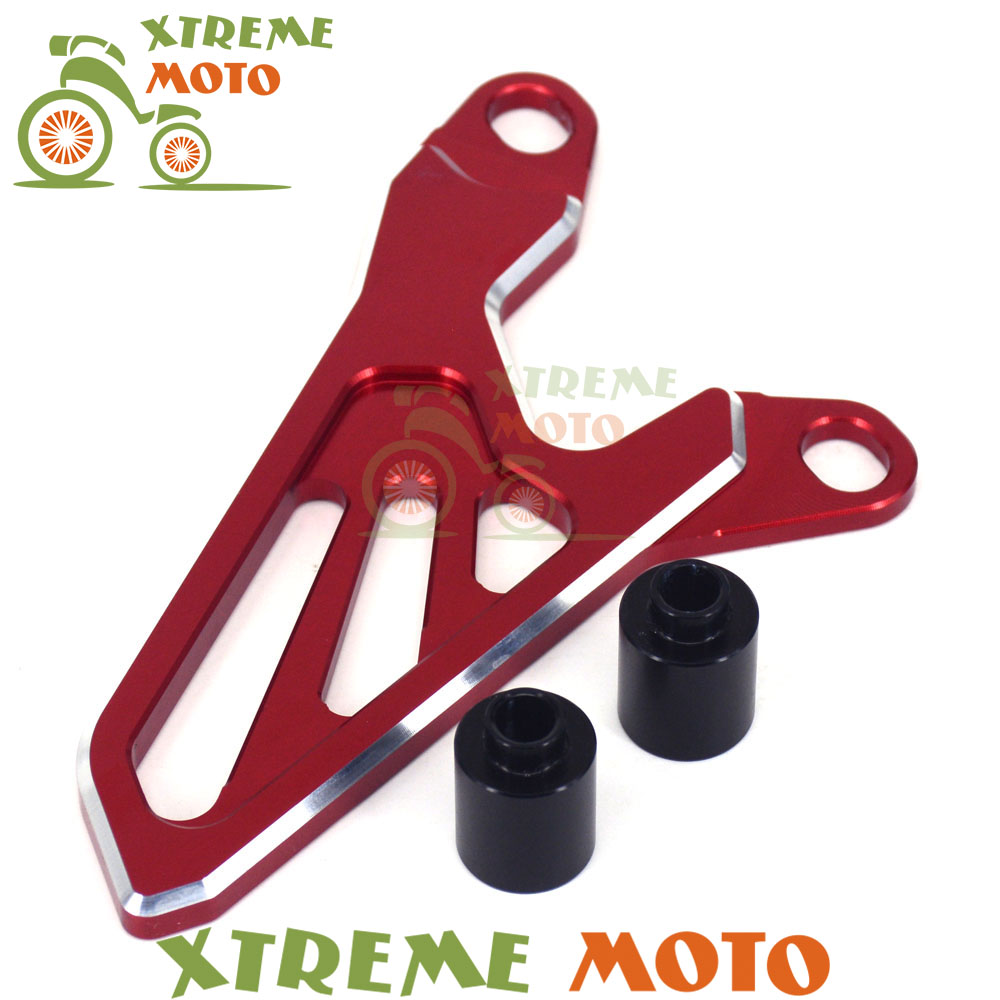 Motorcycle Accessories Red Front Sprocket Chain Cover Guide Guard Protector For Honda CRF 250 450 R CRF250R 10-17 CRF450R 09-16
