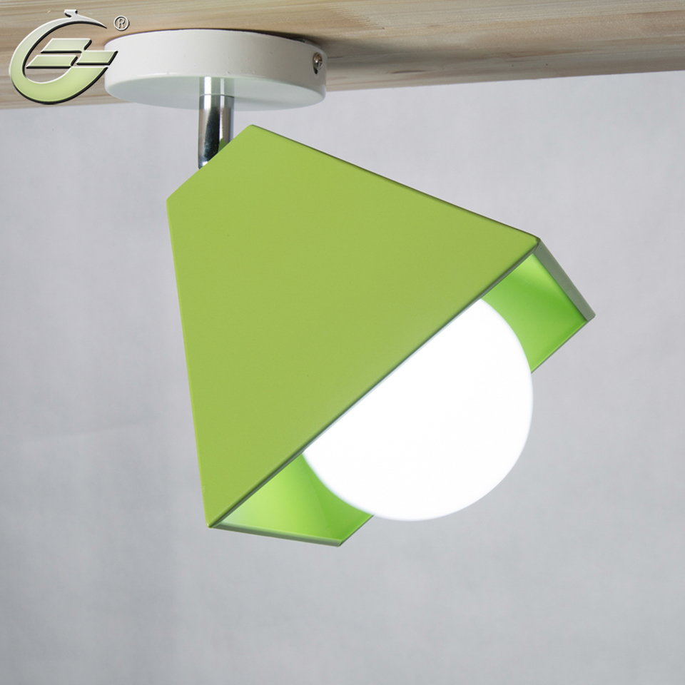 ФОТО Contracted Creative LED Ceiling Light Kids Bedroom Lamps and Lanterns CL020 Free Shipping