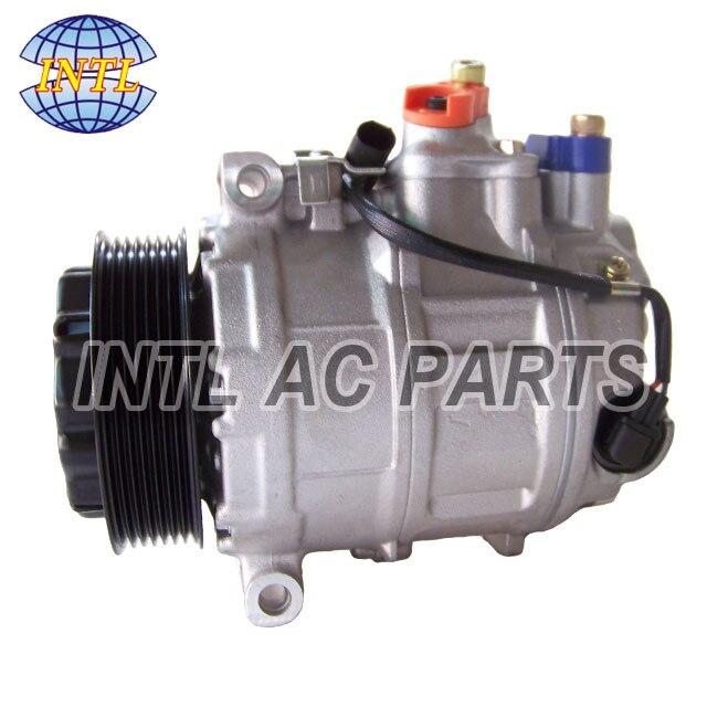 US $125 0 |7SEU17C A0002308611 0002308611 auto air AC COMPRESSOR for  Mercedes Benz CL Class W215/ S Class W220 S600 Coupe C215 / S430-in