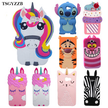 Cute 3D Cartoon Unicorn Stitch Minion Soft Silicone Phone Case For Samsung Galaxy 2016 on 5 on5 J5 Prime on 7 on7 J7 Prime Cover