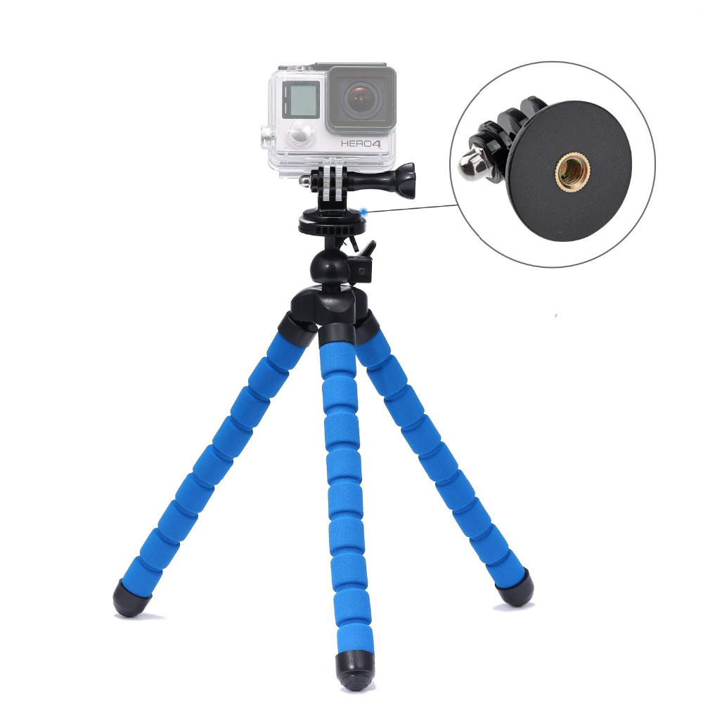 In tripods from consumer electronics on aliexpress com alibaba group - Flexible Tripod Stand 10 6 Quot With Holder With Tripod Mount
