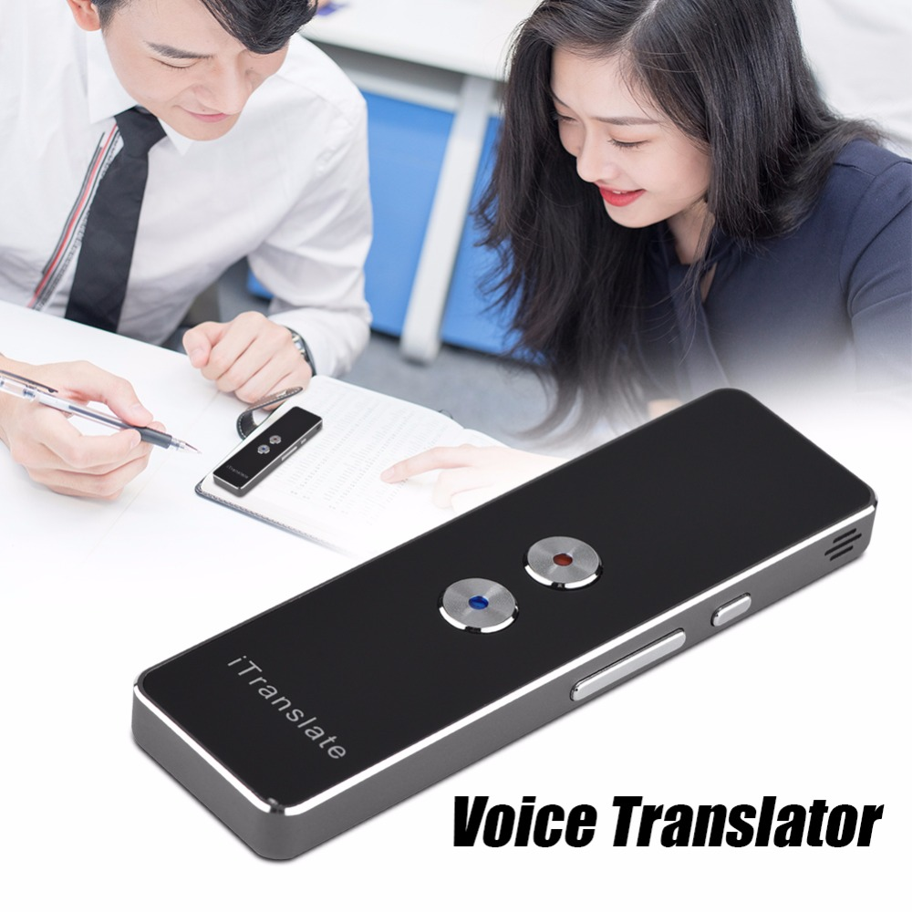 Portable smart Multi language translator Smart Two-Way Real Time russian Voice speech translation for Learning Travel Meeting