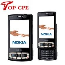 Восстановленное в Исходном NOKIA N95 8 ГБ встроенной памяти GPS WIFI NOKIA N95 8 Г оригинальный телефон диапазона квада