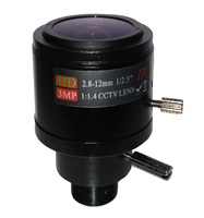 3 0Megapixel Fixed Iris M12 HD 2 8 12mm Varifocal Cctv IR HD Lens F1 8