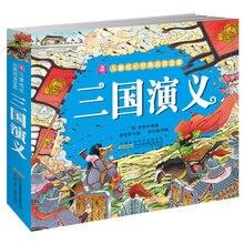 Trzech królestw z kolorowymi obrazkami i pin yin dla dla dzieci dla dzieci wczesna edukacyjna książka