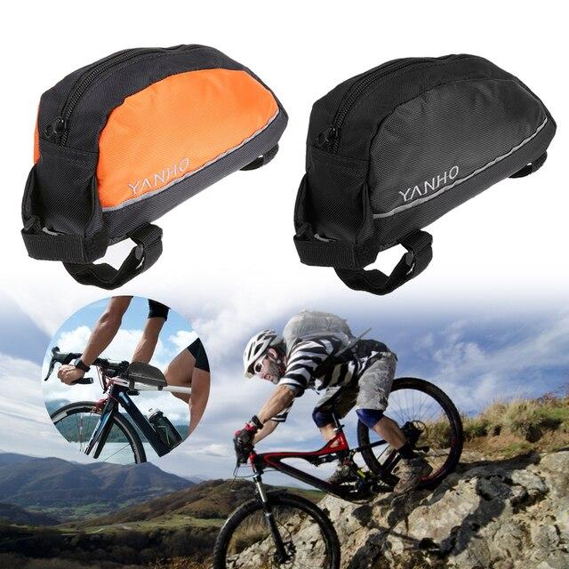 Bicycle Bag Front Waterproof Bike Top Frame Mount Mtb Road Storage Bags