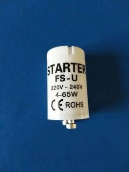 Gran oferta, arrancador de AC220V-240V fluorescente de alta calidad de 4-65W, CE, fusible Rohs, arrancadores 10 unids/lote