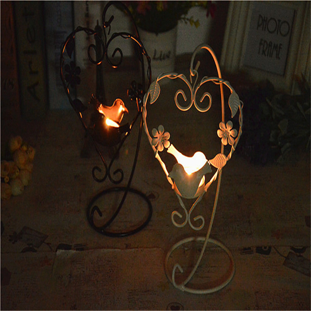 Metal Iron Wall Candle Holders For Decoration Moroccan Lanterns Holder Household Products Candlestick Qqx71