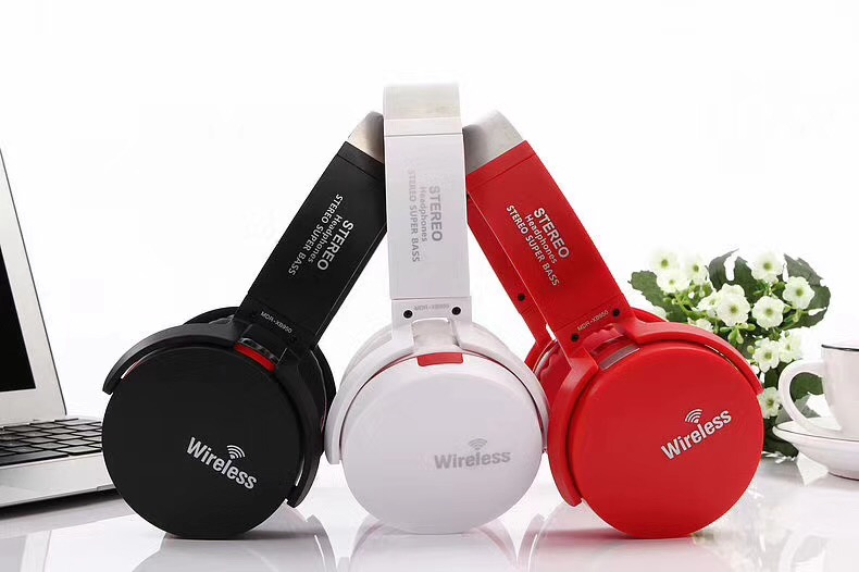 20pcs Bluetooth headphones support TF/SD Card wireless headphone sports bass bluetooth earphone with mic for phone iPhone xiaomi