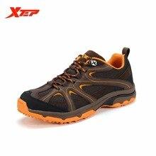 Xtep мужчины тропа Обувь дизайнер для Мужская Водонепроницаемый восхождение Сапоги и ботинки треккинговые ботинки Спорт на открытом воздухе Кроссовки 986219179313