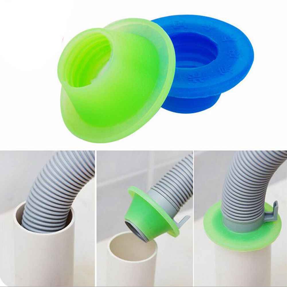 1pc Silicone Seal Plug Bathroom Sewer Pipe Pest Anti-odor Deodorant Silica Gel Seal Ring Washing Machine Pool Floor Drain Plug