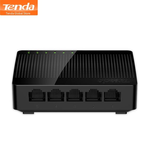 Tenda SG105 Mini 5-Port Masaüstü Gigabit Anahtarı/Hızlı Ethernet Ağ Anahtarı LAN Hub/Tam veya Yarım dubleks Değişim