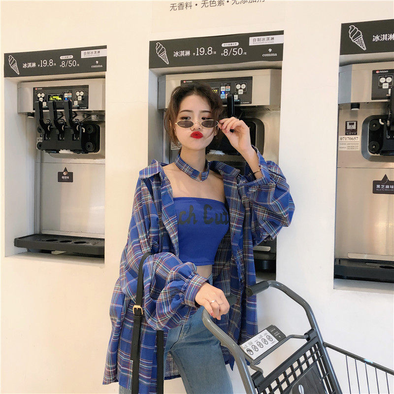 Cheap Wholesale 2019 New Spring Summer Autumn Hot Selling Women's Fashion Casual Ladies Work Shirts FP121