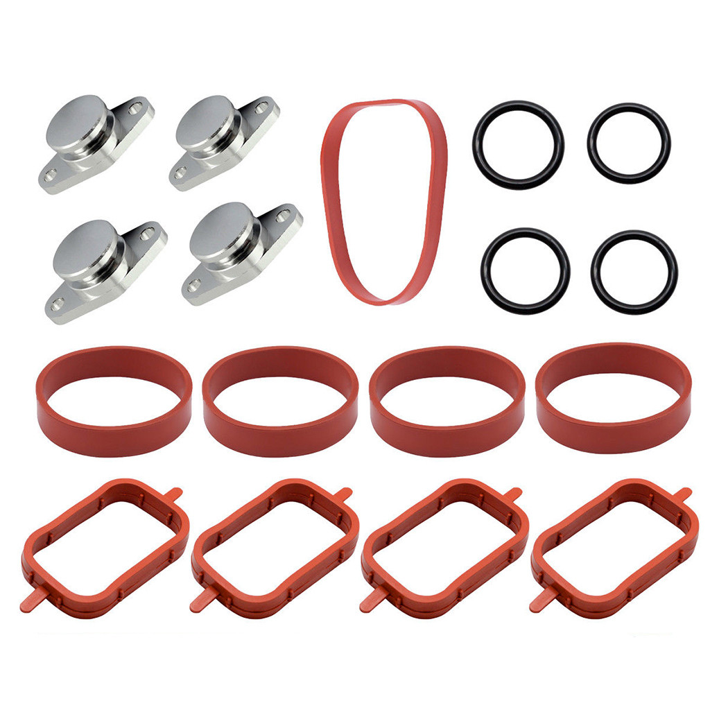 Gaskets Expressive Swirl Flap Blank Bungs & Manifold Gaskets For Bmws M57 E38 E46 320 520 4x 33mm With Intake Manifold Gaskets Kit.#430g50 With Traditional Methods