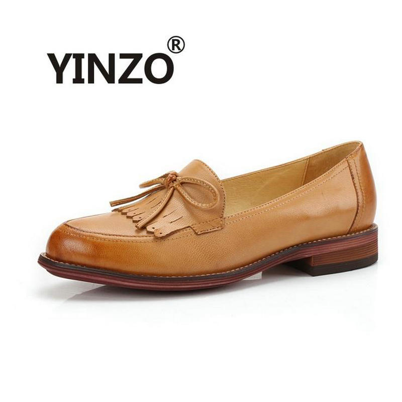 양모 여자 수소 달콤한 옥스포드 플랫 신발 새로운 2020 숙녀 캐주얼 플랫 힐 보우 매듭 술 로퍼 신발에 라운드 발가락 슬립-에서여성용 플랫부터 신발 의  그룹 1
