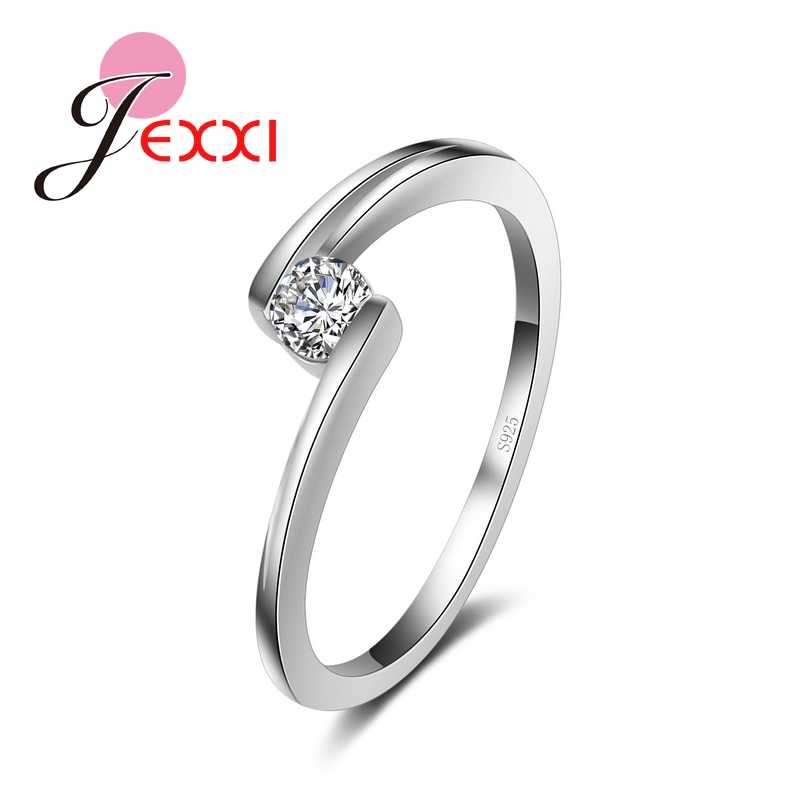 925 Sterling Silver Ring Fashion Jewelry Vintage Rings For Women Wedding Engagement Anniversary Gifts Bijoux Accessories