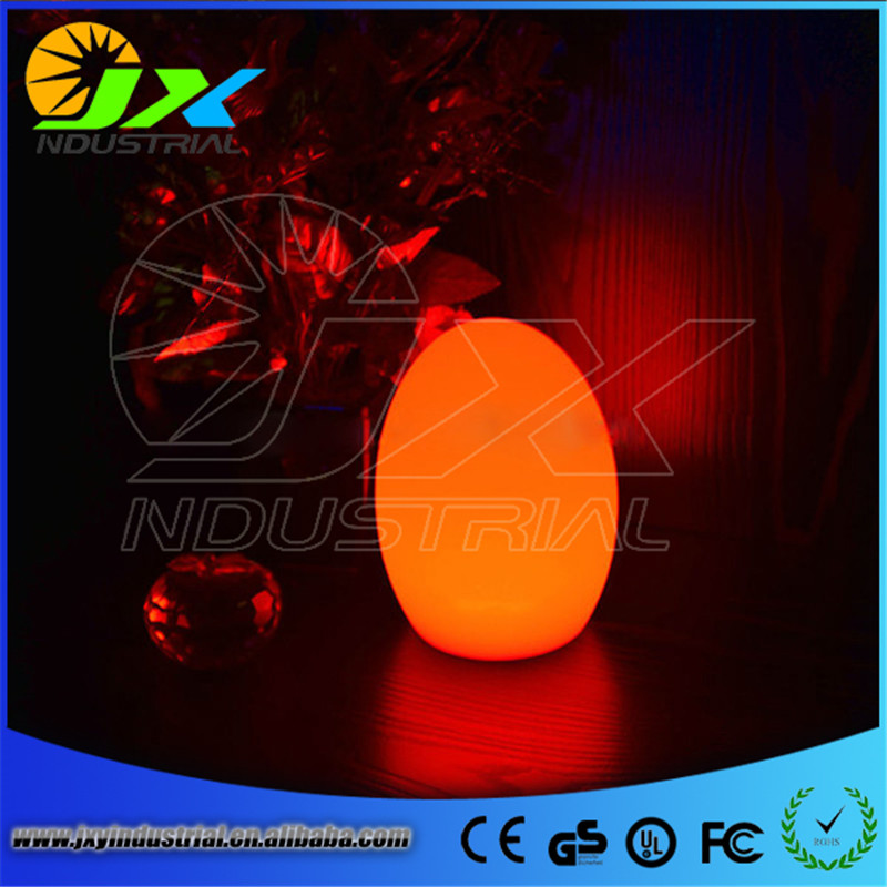 Free Shipping Colorful LED Egg bar table lamp Break-resistant, rechargeable LED glowing egg night light for Christmas free shipping remote control colorful modern minimalist led pyramid light of decoration led night lamp for christmas gifts