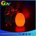 Free envio colorful egg led candeeiro de mesa bar break-resistente, recarregável LED brilhante egg night light para o Natal