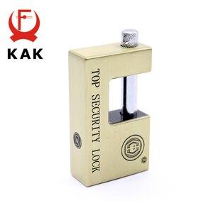 Image 4 - KAK E9 Series Archaize Super B Grade Padlocks Safe Anti Theft Lock Rustproof Antique Bronze Top Security Locks For Home Hardware