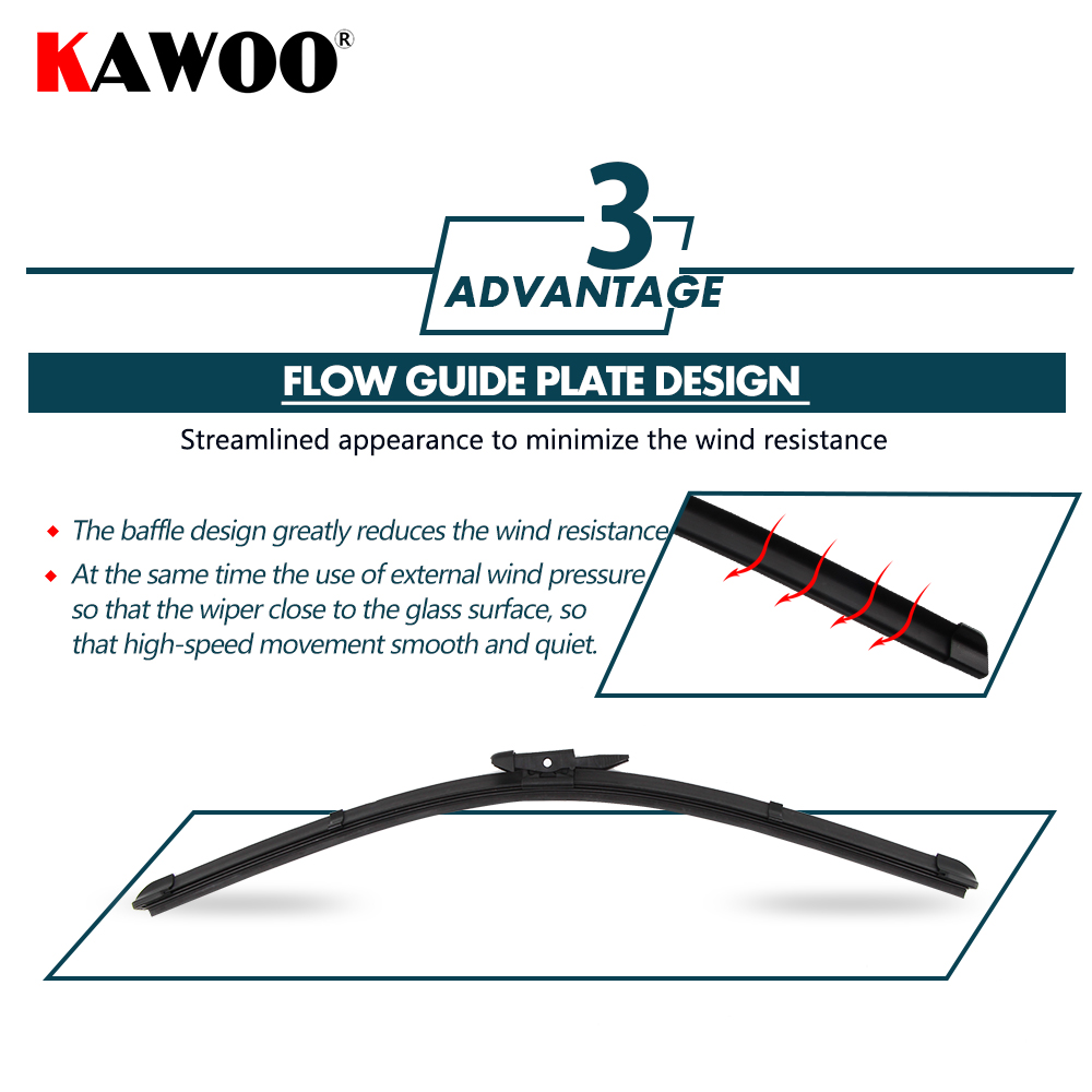"""KAWOO 2pcs Car Wiper Blade 28""""+22"""" For Citroen C5,Size (2008 ) Auto Soft  Rubber Windcreen Wipers Blades Car Accessories Styling-in Windscreen Wipers  from ..."""