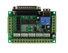 цена на 5 Axis CNC Breakout Board For Stepper Driver Controller mach3