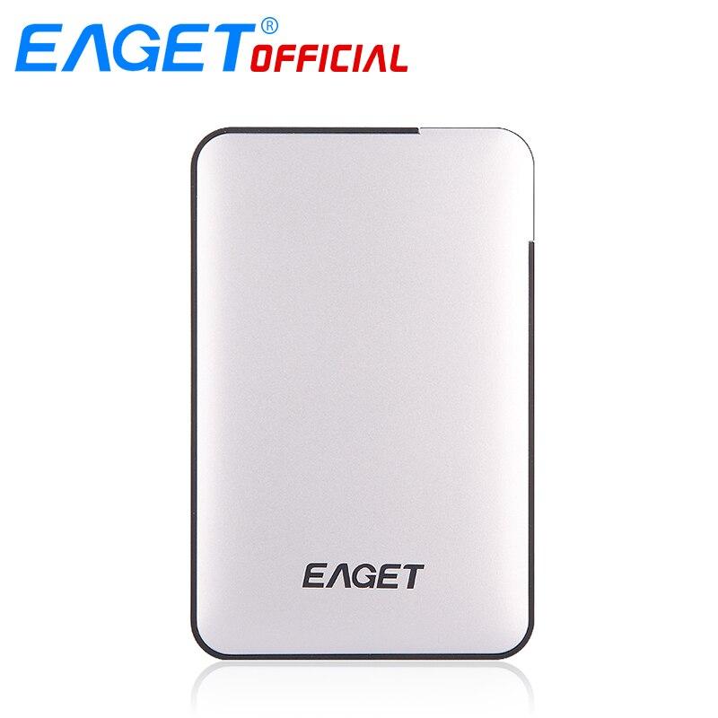 Оригинал Eaget 2 ТБ 1 ТБ 500 ГБ HDD 2.5 USB 3.0 High-Скорость противоударный Внешние жёсткие диски HDD рабочего ноутбука мобильный жесткий диск