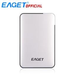 Original EAGET 2TB 1TB 500GB HDD 2.5 USB 3.0 High-Speed Shockproof External Hard Drives HDD Desktop Laptop Mobile Hard Disk