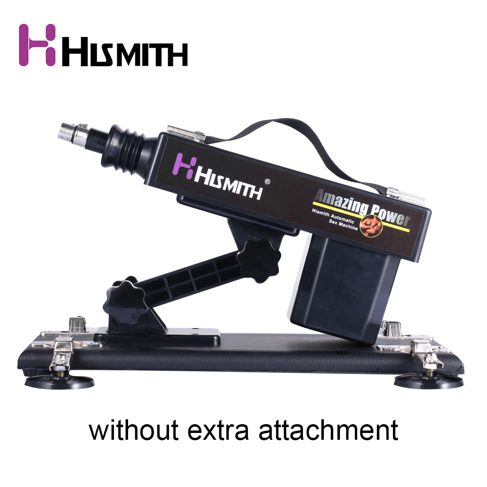 HISMITH Sex Machine Gun For Women And Men Female Masturbation Love Machine Without Dildo Attachment Sex