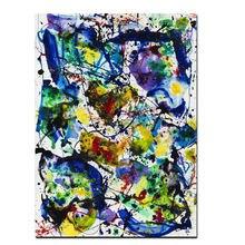 Современная Абстрактная Акварельная живопись маслом на холсте