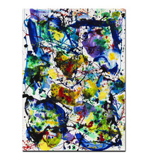Modern Abstract Watercolor Oil Painting on Canvas Poster Street Pop Art Wall Picture for Living Room Cuadros Decor