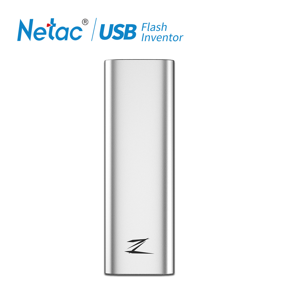 Netac 128GB Type c USB 3 1 Mobile Solid State Disk Z Slim Portable SSD 30g