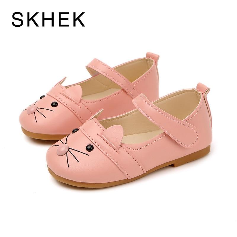SKHEK Mode Nouveau Enfants Bébé Chaussures Simples Pour Fille Sneaker été Printemps Automne Filles PU En Cuir Verni Casual Chaussures SKU A5