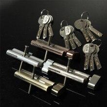 Новое поступление, домашний безопасный цилиндр, цилиндр поворота большого пальца 70 мм(35/35), дверной замок с 3 ключами, четыре цвета